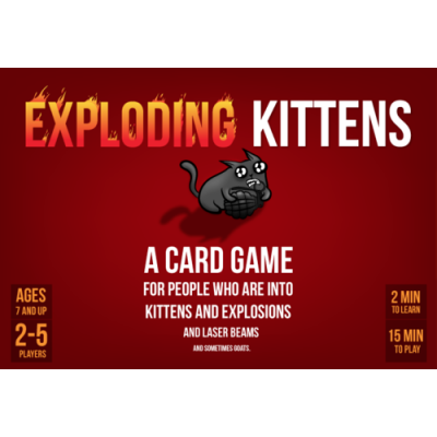 Exploding Kittens (1st Edition MEOW)
