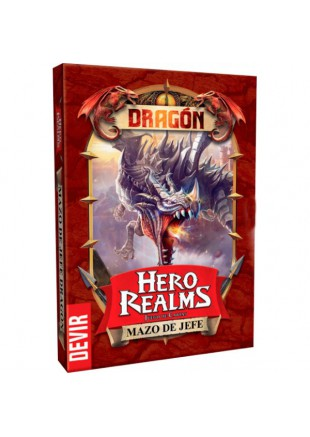 Hero Realms: Mazo de Jefe - Dragón