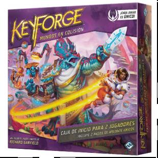 KeyForge: Mundos en Colisión Caja de inicio para 2 jugadores