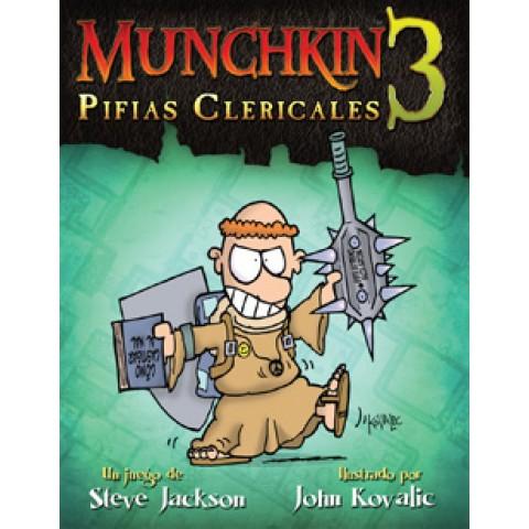 Munchkin 3: Pifias Clericales (Edic. Revisada)