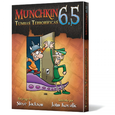 Munchkin 6.5: Tumbas Terroríficas