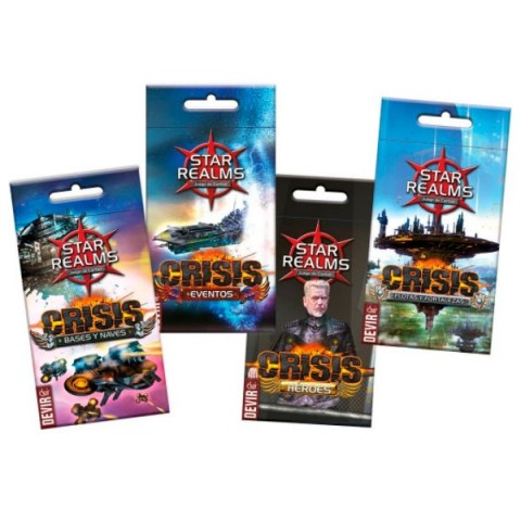 Star Realms: Crisis - Bases y Naves