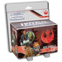 Star Wars: Imperial Assault - Hera Syndulla y C1-10P