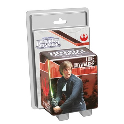 Star Wars: Imperial Assault - Luke Skywalker, Caballero jedi