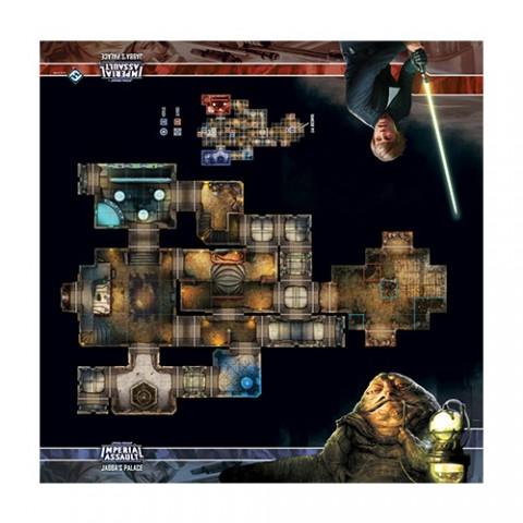 Star Wars: Imperial Assault - Tablero de Escaramuza del palacio de Jabba