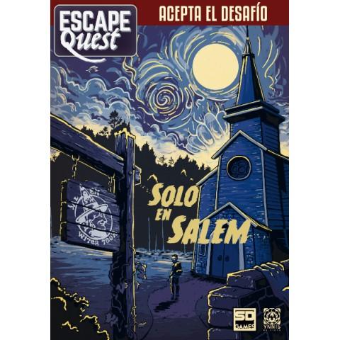 Escape Quest Vol. 3: Solo en Salem