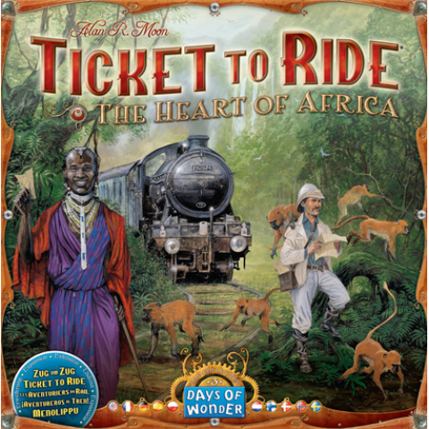 Aventureros al Tren: 3- El Corazón de África