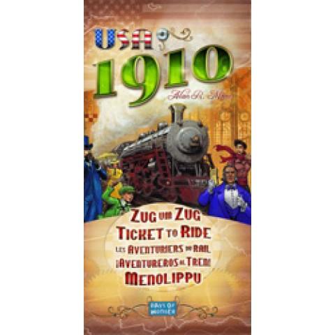 Aventureros al Tren: USA 1910