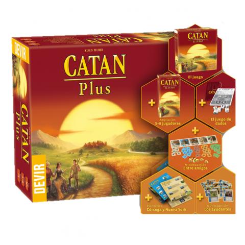 Catan Plus (ed 2019)