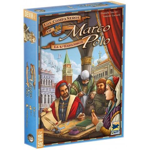 Los Viajes de Marco Polo: Los compañeros de Marco Polo
