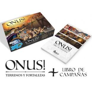 ONUS!: Expansión Terreno y Fortalezas + Libro de Campañas