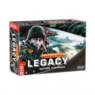 """Pandemic Legacy """"Temporada dos"""" - Negro"""