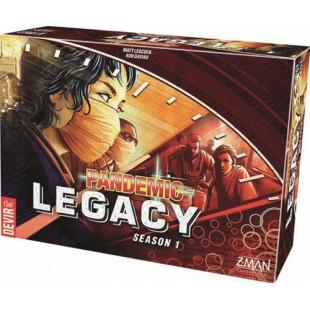 Pandemic Legacy - Rojo (Español)