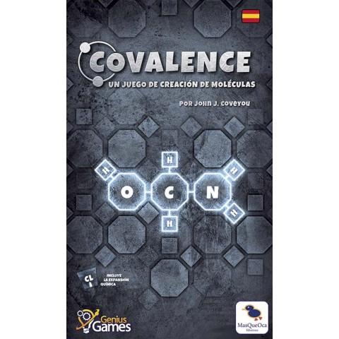 Covalence: Un juego de creación de moleculas