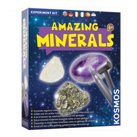 Experiment Kit: Amazing Minerals