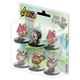 Krosmaster: Arena. Pack de muñecas (tokens) Ola 1