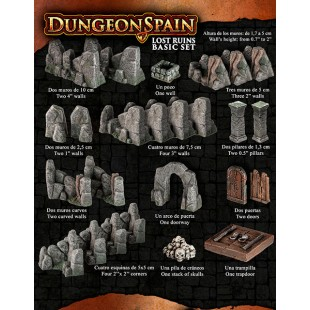 Dungeon Spain: Ruinas