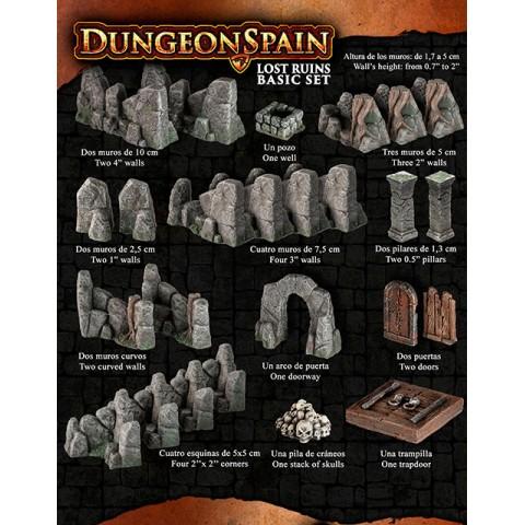 Dungeon Spain: Ruinas
