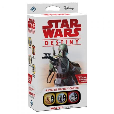 Star Wars Destiny - Caja de inicio: Boba Fett