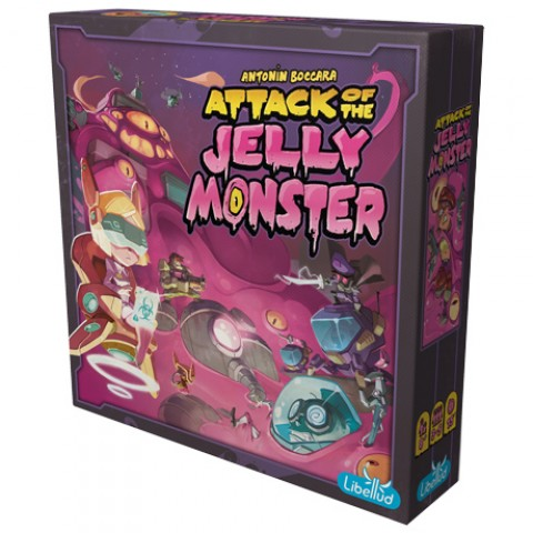 Attack of the Jelly Monster (Castellano)