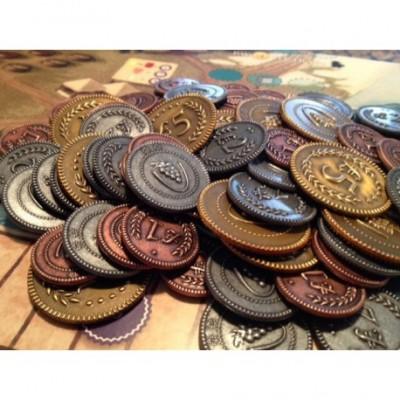 Viticulture: Monedas metalicas