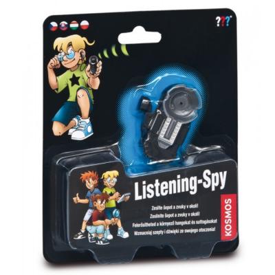 Los Tres Detectives: Listening-spy