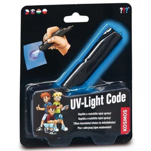 Los Tres Detectives: Códigos UV