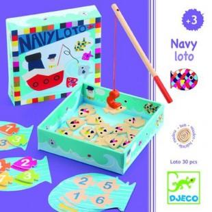 Juego Educativo  Navy-Loto