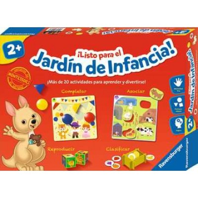 ¡Listo para el jardín de la infancia!