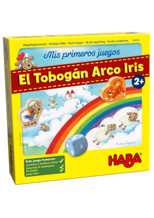 Mis primeros juegos -  El tobogán Arco Iris