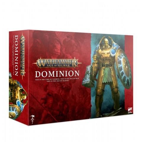 Dominio - Caja de lanzamiento Warhammer Age Of Sigmar + promos