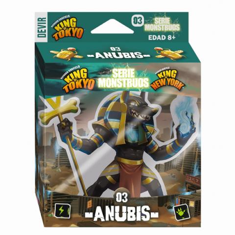 King of Tokyo: Serie Monstruos 03 - Anubis