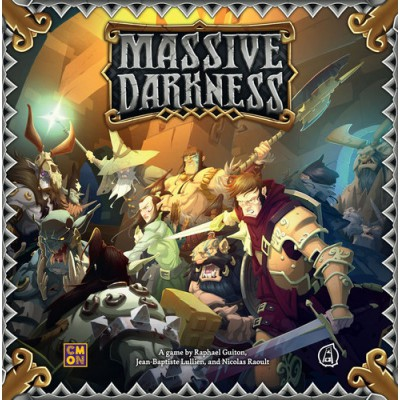 Massive Darkness + Kit de conversión Black plague