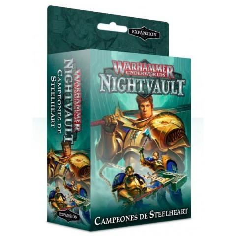 Warhammer Underworlds: Nightvault - Campeones de Steelheart