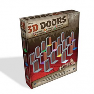 Zombicide: Black Plague 3D Doors Pack