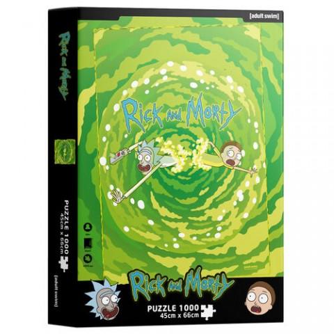 PUZZLE Rick & Morty Portales 1000 pz