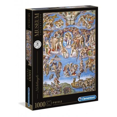 PUZZLE MUSEUM COLLECTION Juicio Final de Michelangelo