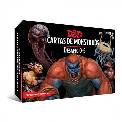 Dungeons & Dragons (Quinta Edición) - Cartas de Monstruos Desafío 0-5