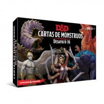 Dungeons & Dragons (Quinta Edición) - Cartas de Monstruos Desafío 6-16
