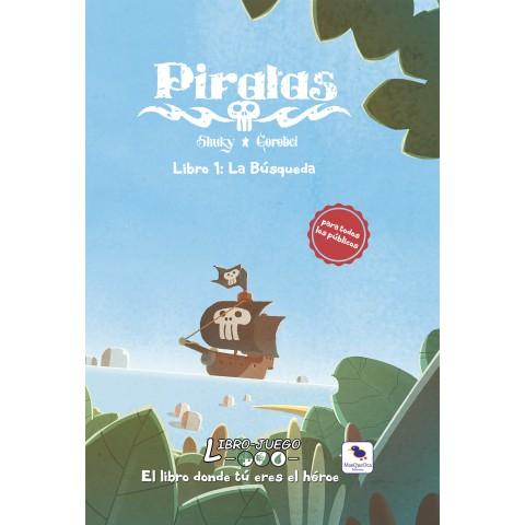 Libro Juego 12: Piratas La Busqueda