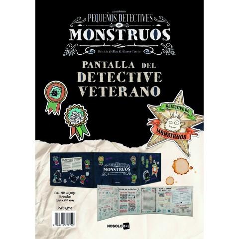 Pequeños Detectives de Monstruos: Pantalla del Detective Veterano