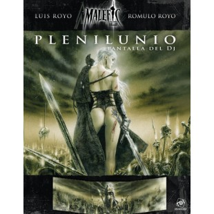 Malefic Time: Plenilunio - Pantalla del Director de Juego