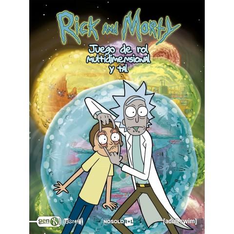 Rick y Morty: el juego de rol multidimensional y tal