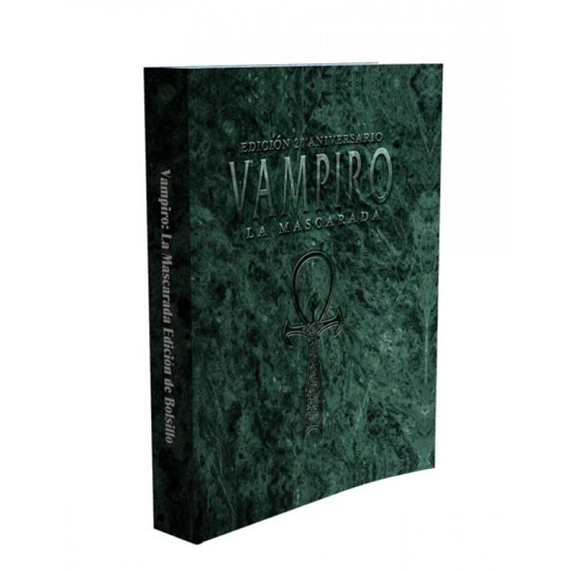 Vampiro La Mascarada 20º Aniversario - Edición Bolsillo