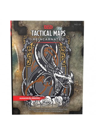 Dungeons & Dragons RPG Tactical Maps Reincarnated