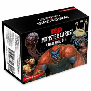 Dungeons & Dragons: Monster Cards Challenge 0-5