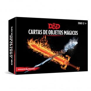 Dungeons & Dragons (Quinta Edición) - Cartas de objetos Mágicos