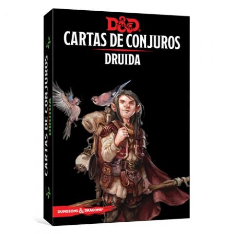 Dungeons & Dragons (Quinta Edición) - Druida/ Cartas de Conjuro