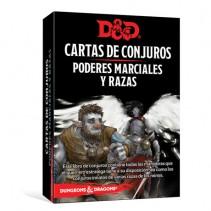 Dungeons & Dragons (Quinta Edición) - Poderes marciales y razas / Cartas de conjuro