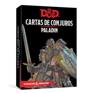 Dungeons & Dragons (Quinta Edición) - Paladín / Cartas de conjuro